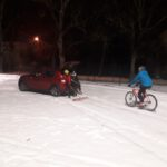 Śnieżny trening Szarży